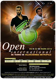 Open tennis valenciennes